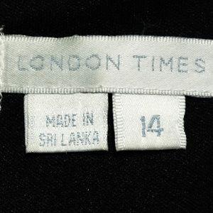 London Times Dresses - London Times Sleeveless Dress
